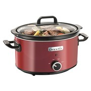 Crock-pot 3.5l Slow Cooker Stainless Steel Red (SCV400RD-060)